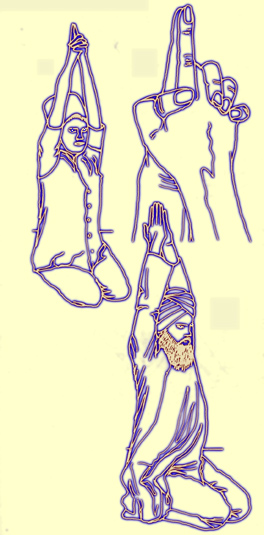 more illustration sat kriya posture