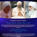 Kundalini Yoga Level two II 2 Vitality & Stress